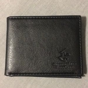 Beverly Hills Polo Club black bifold wallet